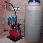 Фотография оборудования: \'Система очистки воды с накопительным баком\'